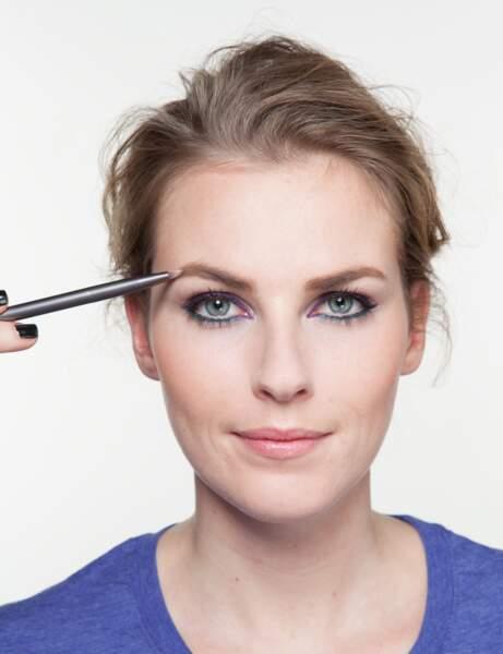 Step 4 : des sourcils métamorphosés
