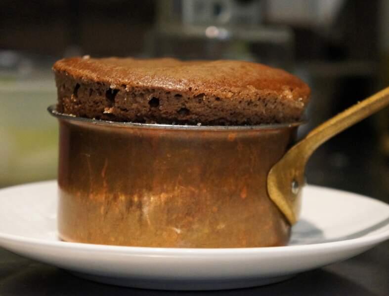 Soufflé au chocolat de Jean Imbert