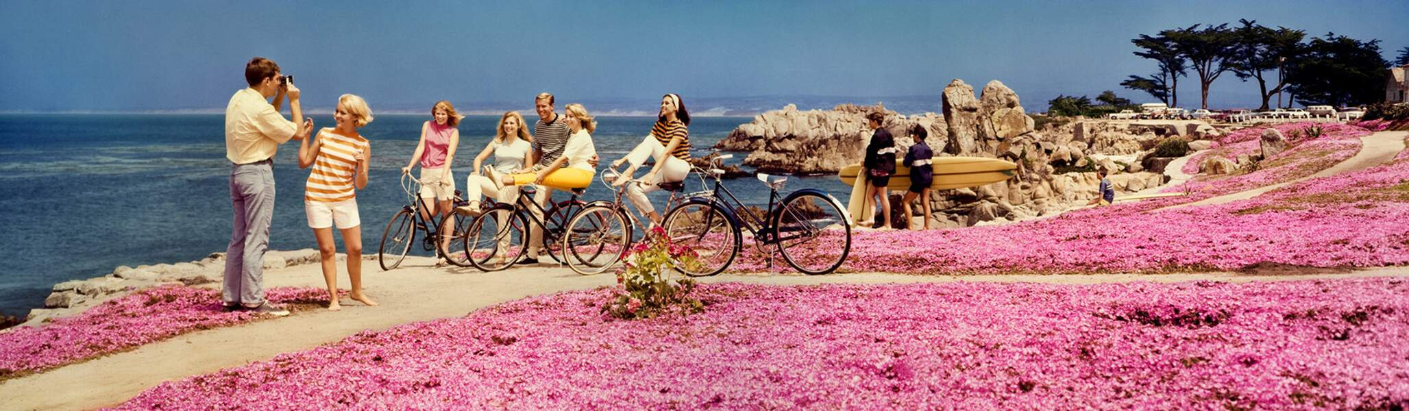 Teenagers With Bicycles, 1968