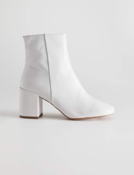 de Bottine blancheles tendance saison chaussures la RLAj435
