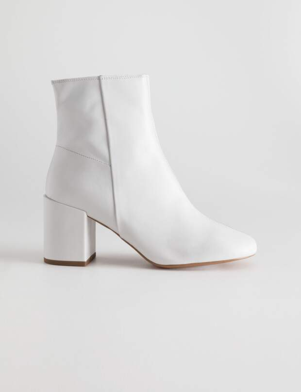 chaussures de la Bottine blancheles tendance saison lFT1JcK