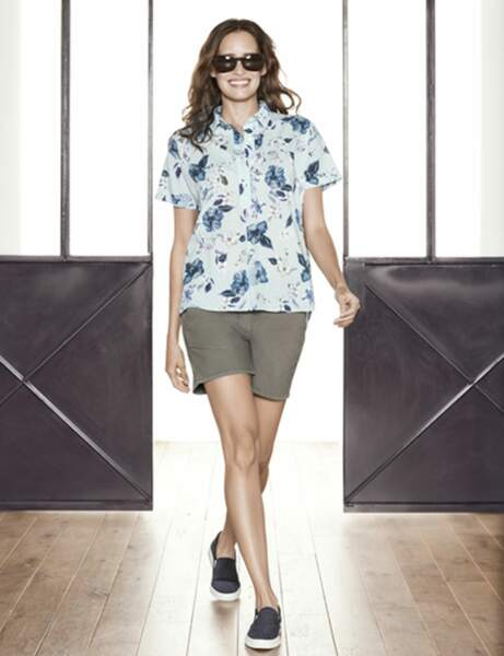 Le short : coupe chino