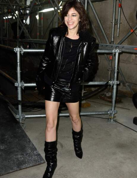 """Charlotte Gainsbourg : le look """"all black"""""""