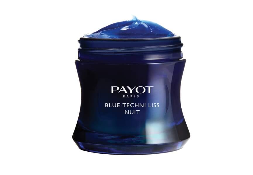 Le baume bleu chrono-régénérant Blue Techni Liss Nuit Payot