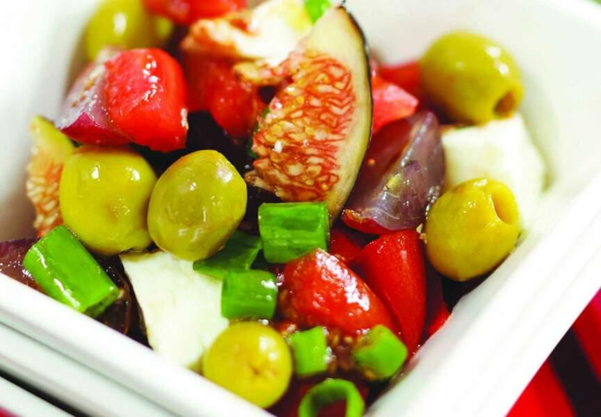 Salade retour du marché