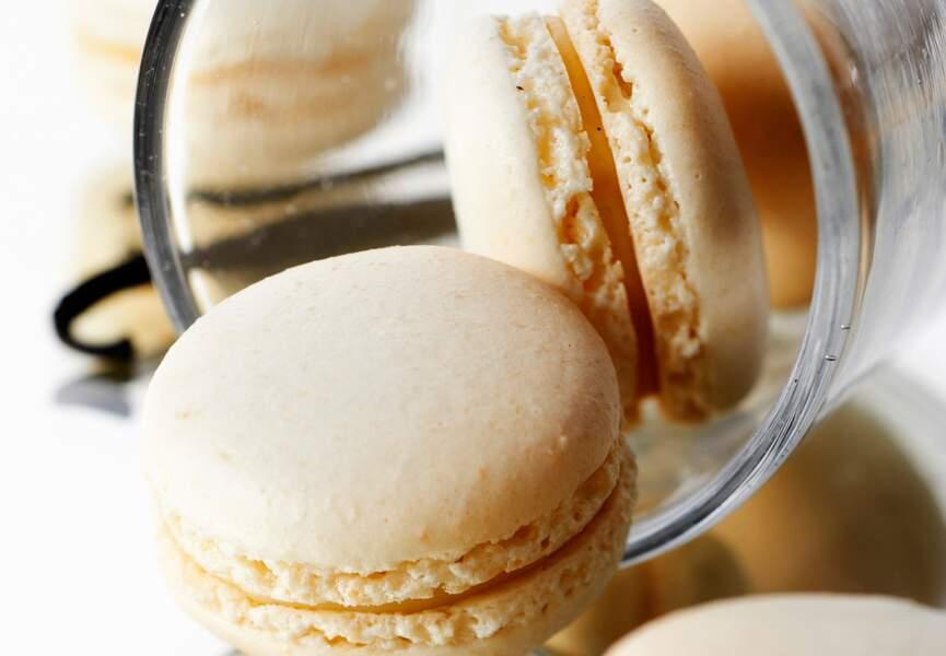 Macaron à la vanille