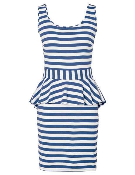 Néo-marin : la robe chic