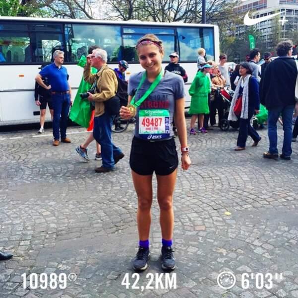 Participer à un marathon...