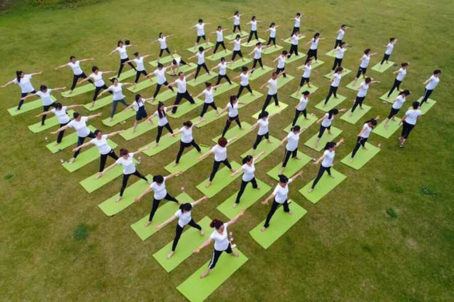 Yoga Day : le yoga se base sur des valeurs de paix, d'harmonie et de non violence