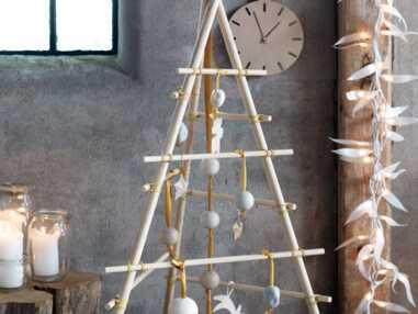 Une déco de Noël pastel en papier