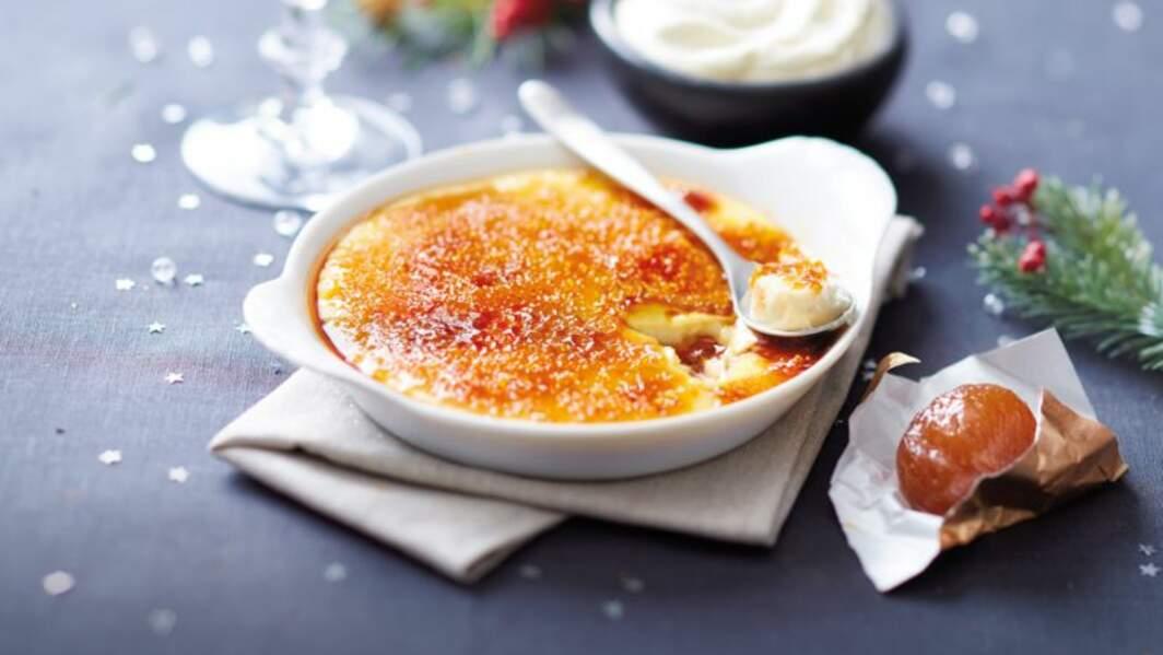 Crème brûlée aux marrons