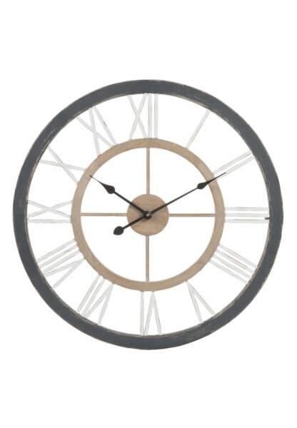 Horloges : le modèle bicolore Maisons du Monde