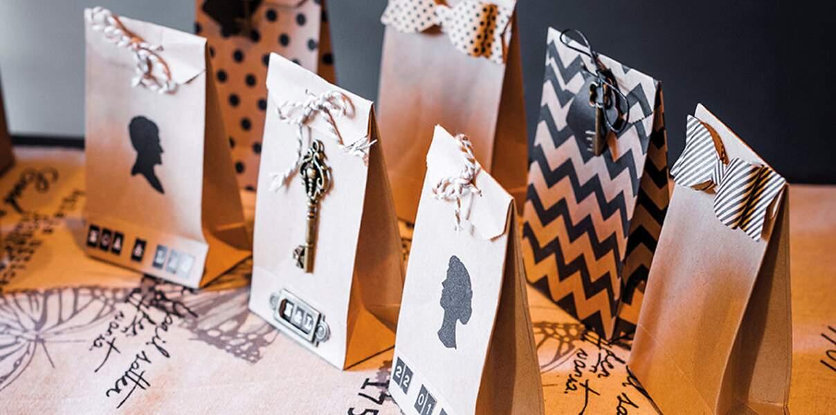 Pochettes pour cadeaux DIY