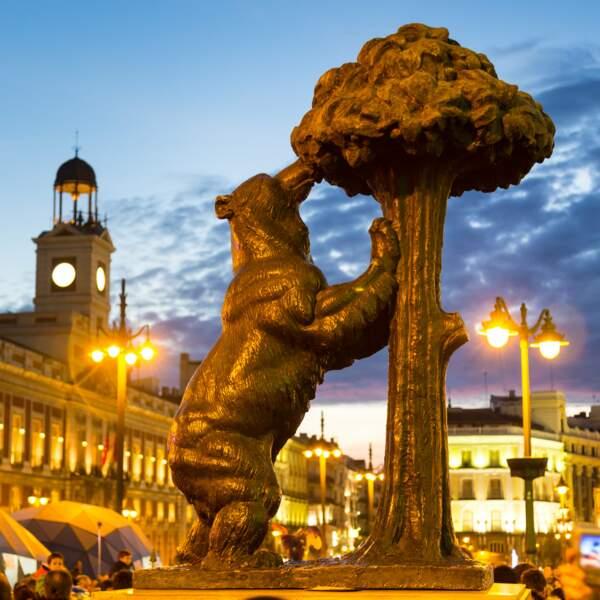 L'ours et l'Arbrousier à la Puerta del Sol