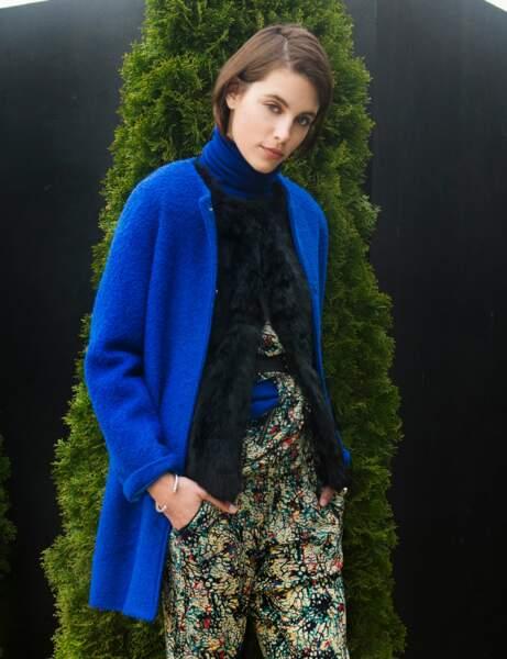 Le manteau bleu