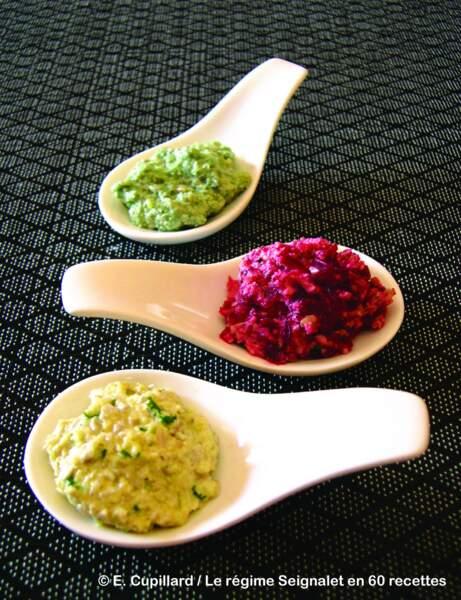 Sauces aux graines de tournesol