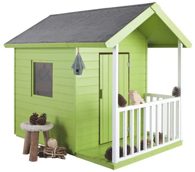 Maisonnette toute verte