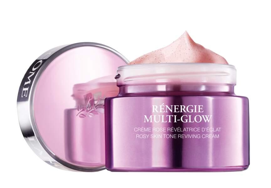 Rénergie Multi-Glow Crème Rose Révélatrice d'Éclat Lancôme