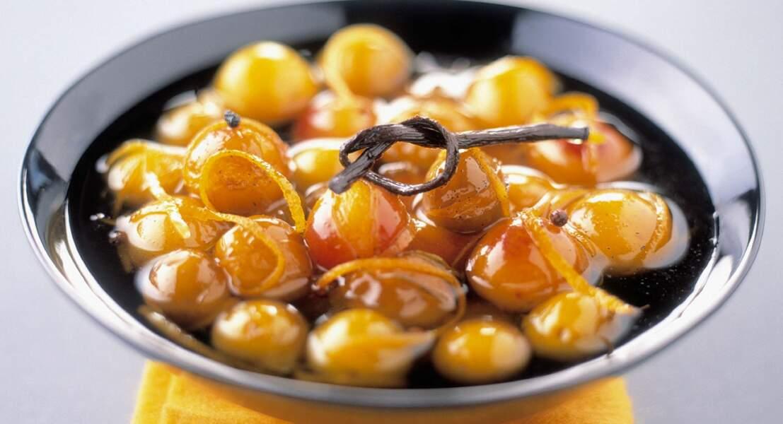 Mirabelles aux épices