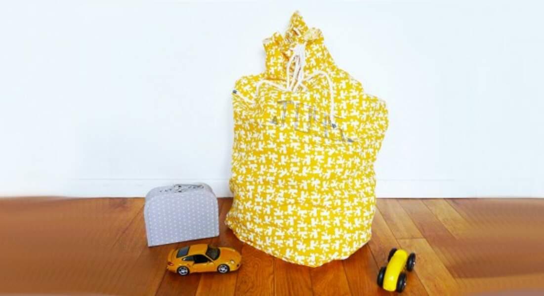 Un sac à jouets taille XXL