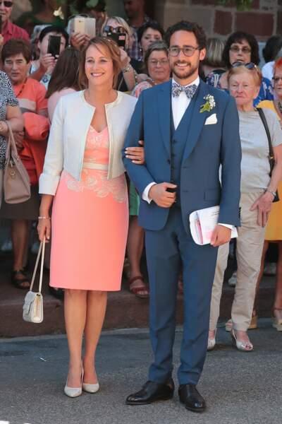 Ségolène Royal a accompagné son fils jusqu'à l'autel