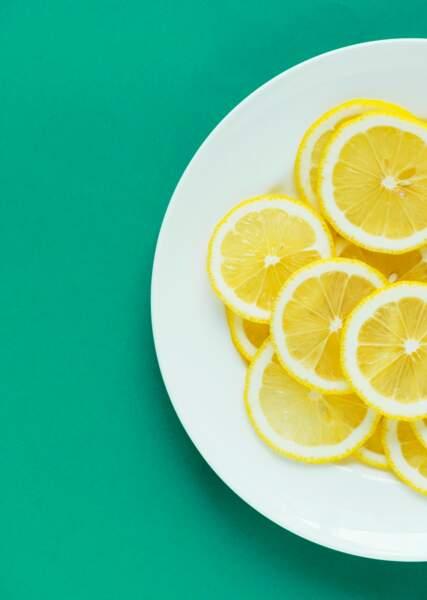 Un mélange au citron spécial bonne humeur
