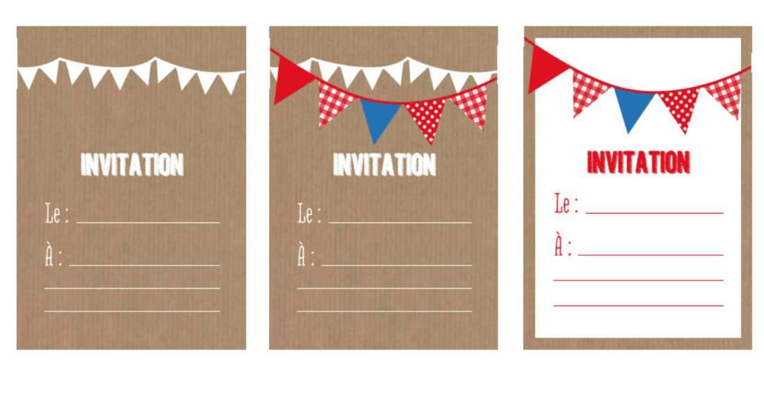 Carte D Invitation A Faire Soi Meme Femme Actuelle