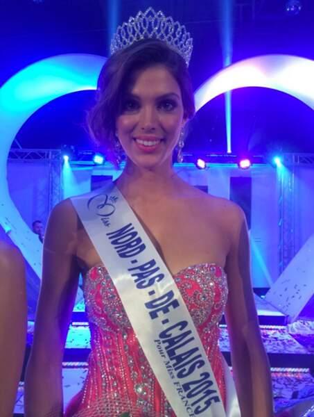 Iris Mittenaere, Miss Nord-Pas-de-Calais