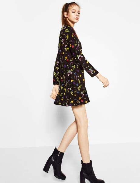 Robes petit prix : flower power