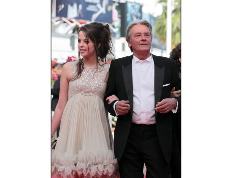 En 2010, il monte les marches au Festival de Cannes avec sa fille