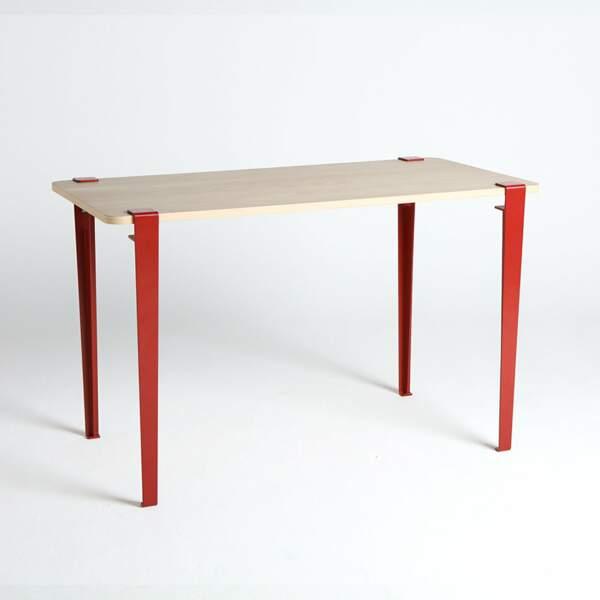 Table en chêne et acier