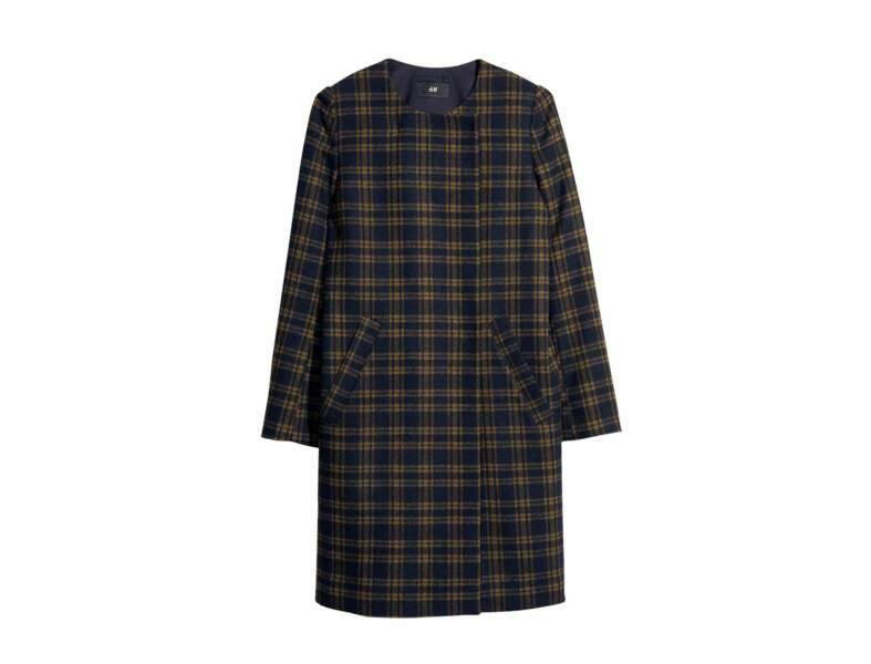COUP DE COEUR : Manteau à carreaux H&M