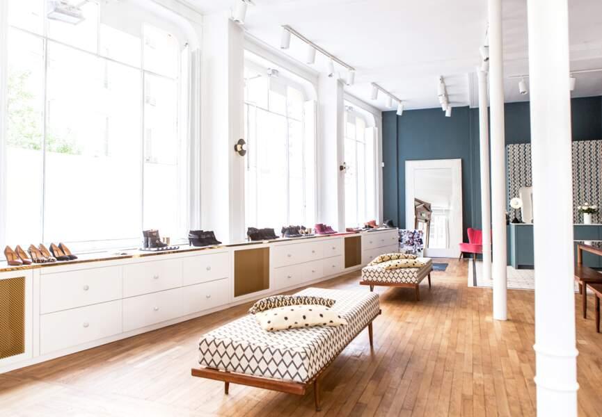 Appartement Sézane : le temple des fashionistas