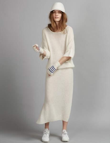 La robe crème