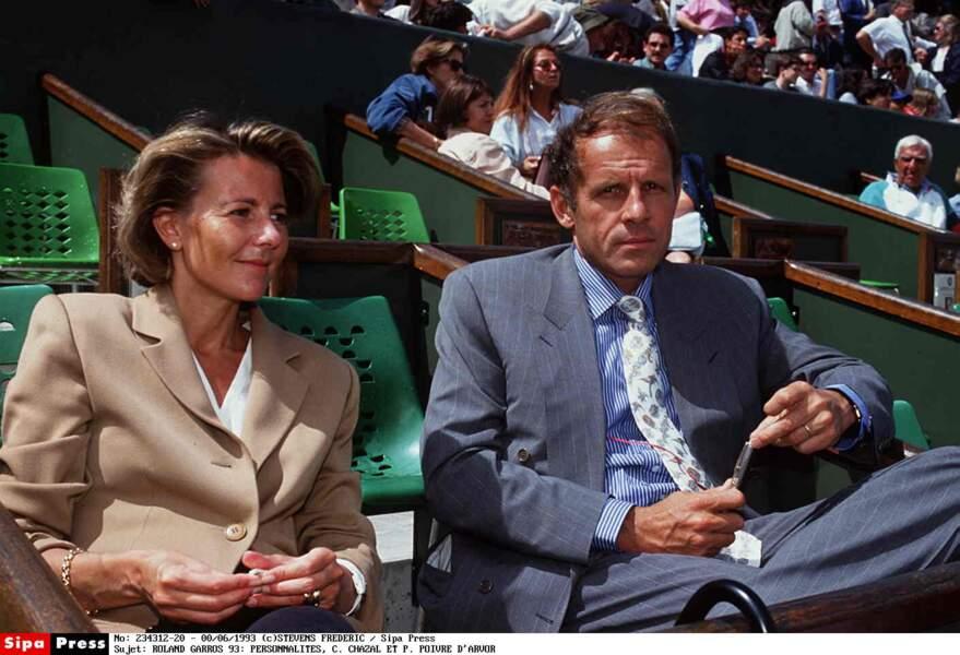 Claire Chazal, Patrick Poivre d'Arvor, début des années 1990