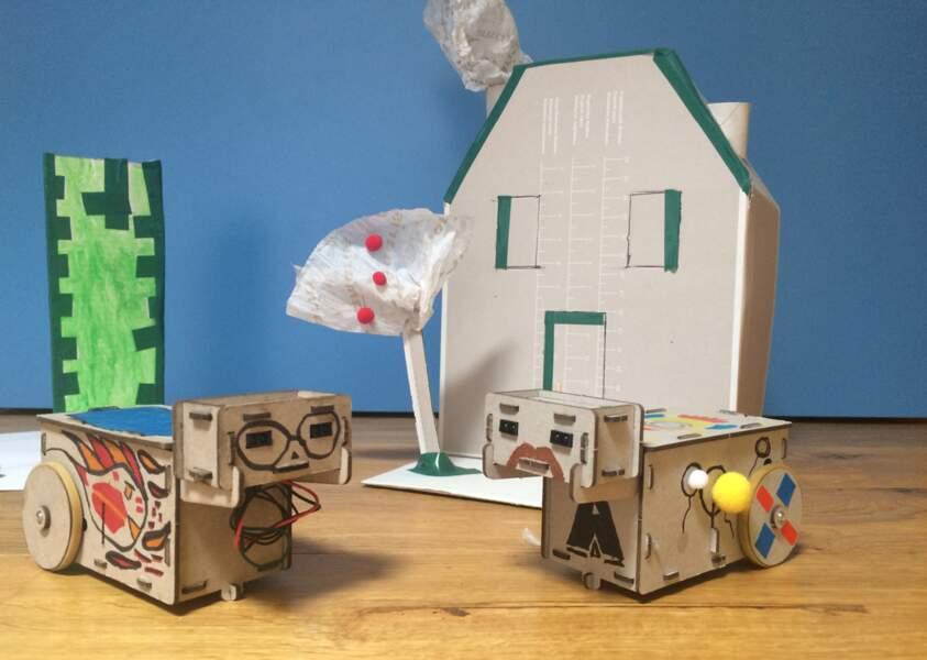 Un robot à construire soi-même