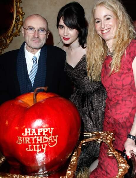 Lily Colins, la fille de Phil Collins et Jill Tavelman