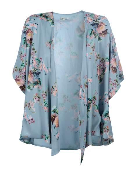 Flower power : le kimono printanier