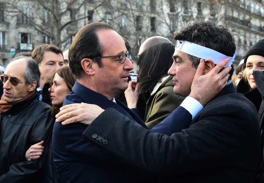 Patrick Pelloux et François Hollande