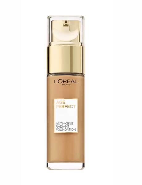 Si j'ai des rides : le fond de teint Age Perfect L'Oréal Paris
