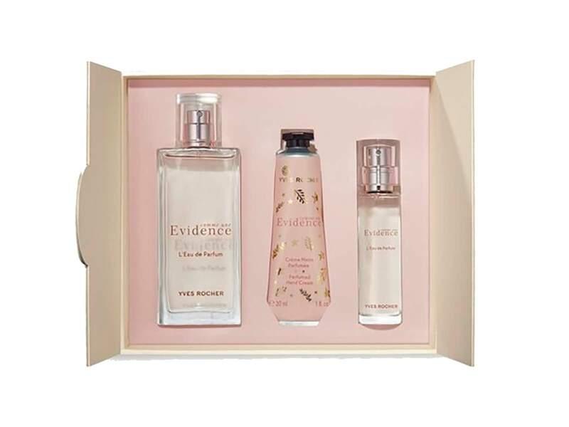 Coffret Comme une Évidence - Eau de parfum, Yves Rocher, prix indicatif : 59,80 €