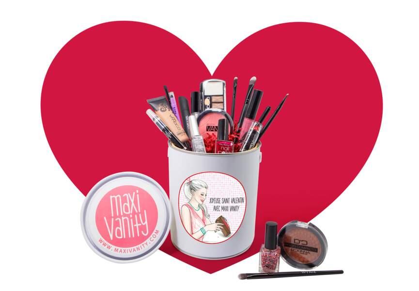 Pour elle : un set de 20 produits make-up