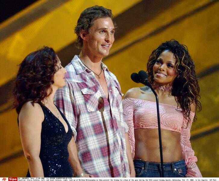Janet Jackson, Matthew McConaughey, 2002
