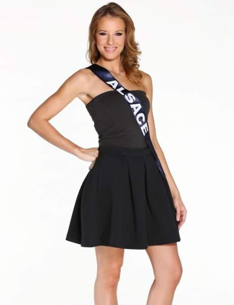 Miss Alsace, quatrième dauphine