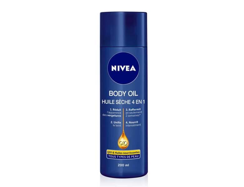Body Oil Huile sèche 4 en 1, Nivea