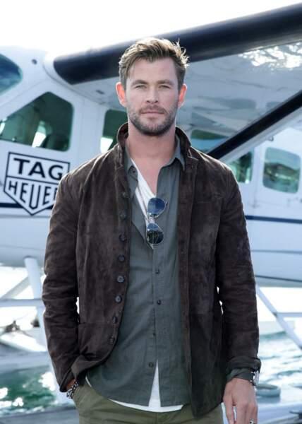 Chris Hemsworth et sa coupe under cut
