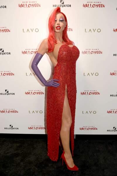 Le déguisement d'Heidi Klum pour Halloween