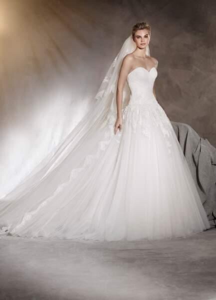 Robe de mariée Pronovias : Adelaida