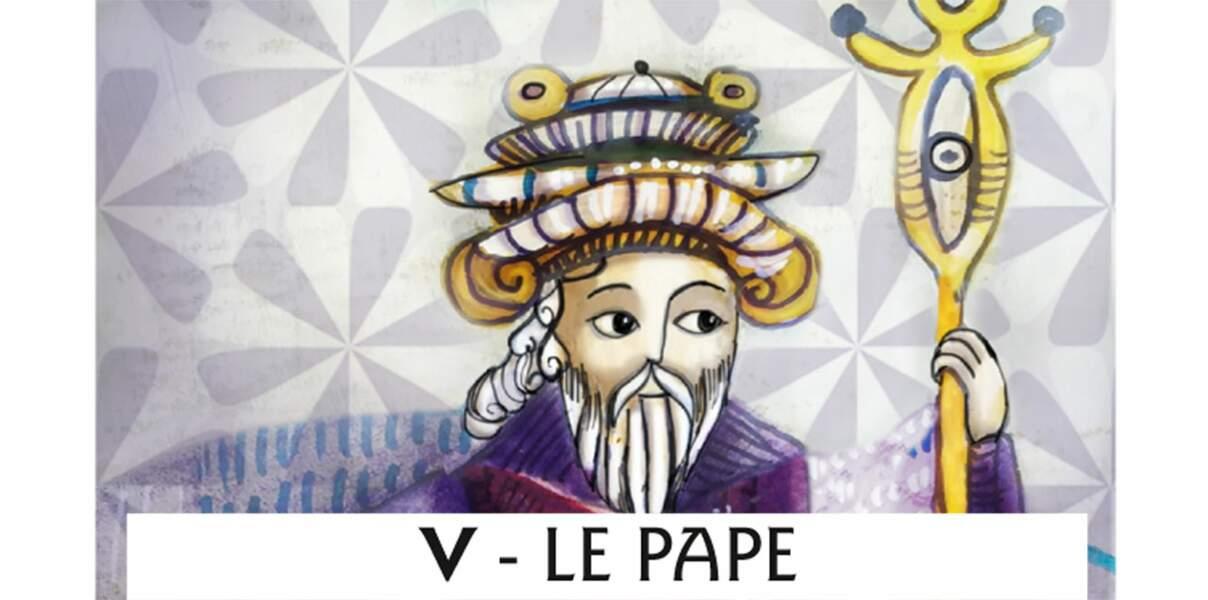 Tarot de Marseille : le Pape