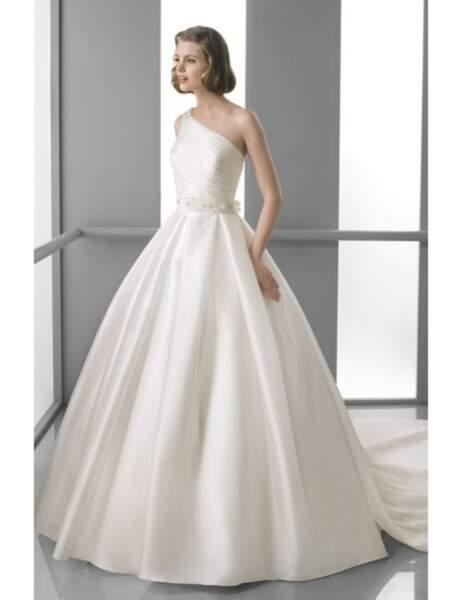 Robe de mariée pour un mariage de princesse